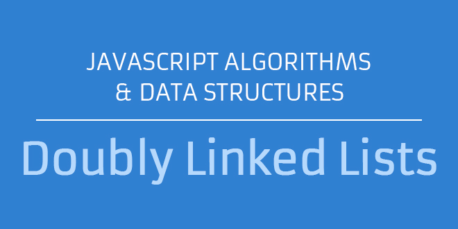 Javascript Doubly Linked Lists