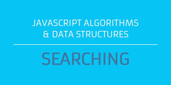 javascript search algorithms